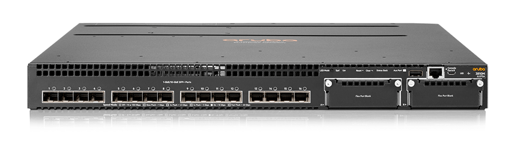Aruba 3810M 16SFP+ 2-slot Switch (JL075A)
