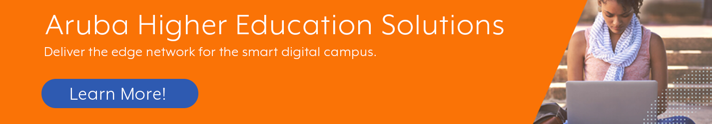 Aruba Higher Education Products